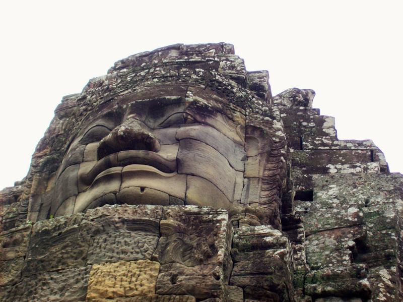 Cambogia bayon budda