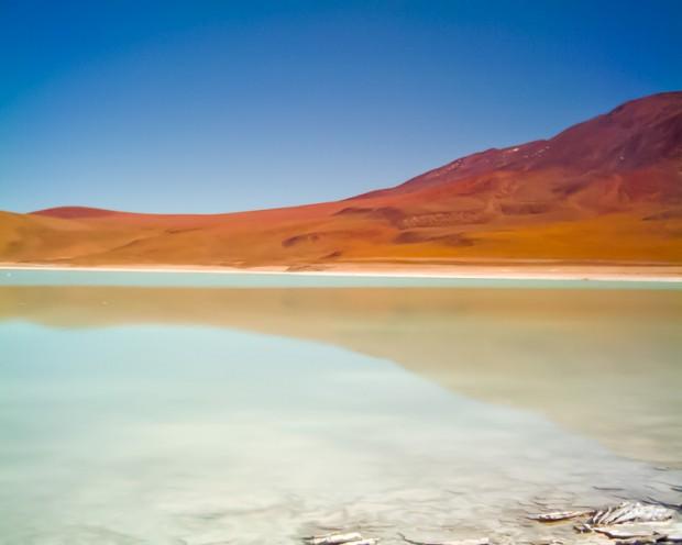 Bolivia laguna verde