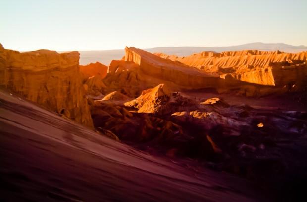 Cile tramonto