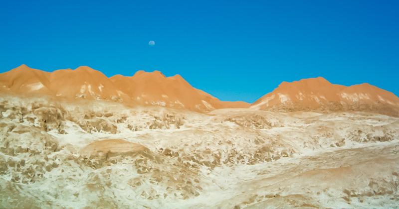 Cile valle della luna