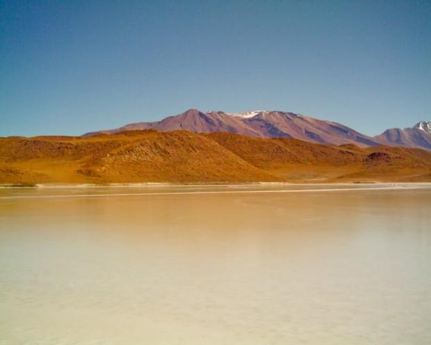 Bolivia laguna bianca