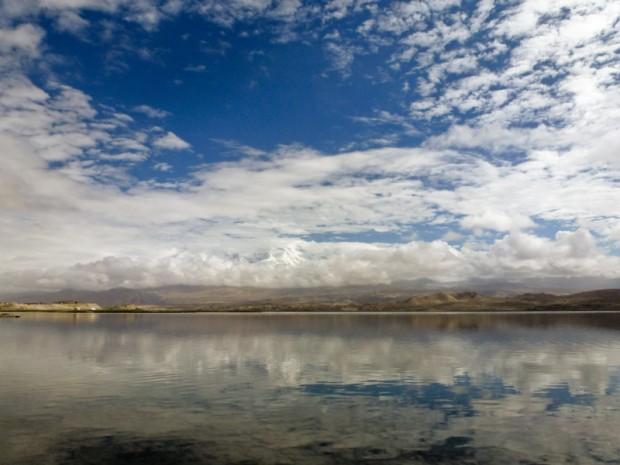 Cina Xinjiang karakul lago