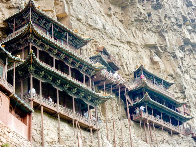 Cina tempio sospeso