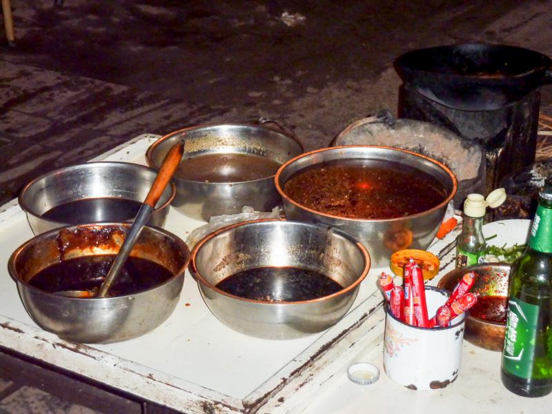 Cina cibo strada Pingyao