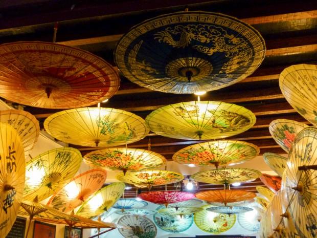 Cina ombrelli