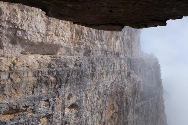 Dolomiti del Brenta: via ferrata delle bocchette centrali
