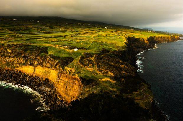 Tramonto su Faial, arcipelago delle Azzorre