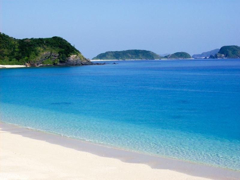 Giappone Okinawa spiaggia