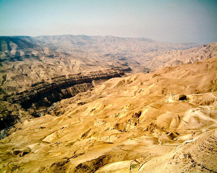 Giordania wadi mujib