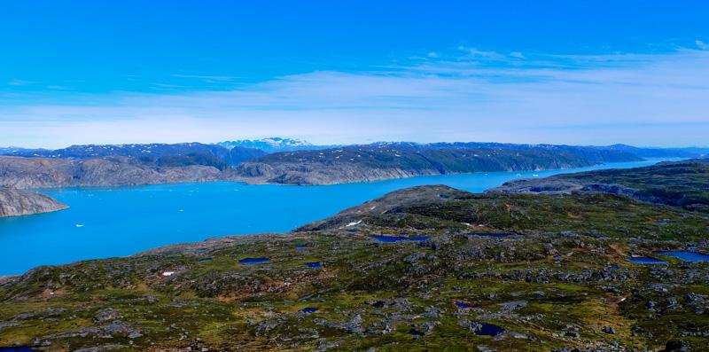 Viaggio groenlandia fiordo