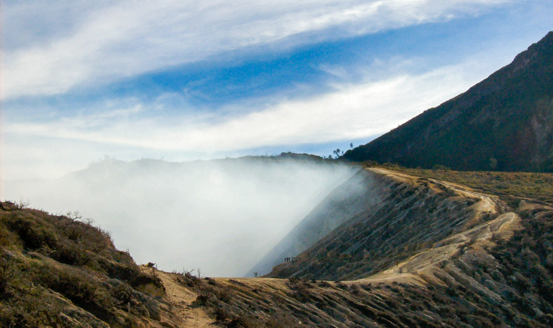 Indonesia Ijen cratere
