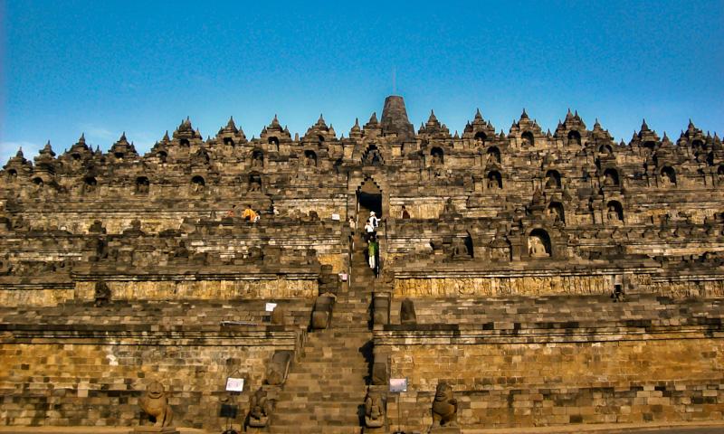 Indonesia borobudur piramide