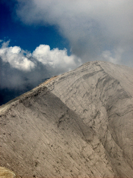 Indonesia cratere