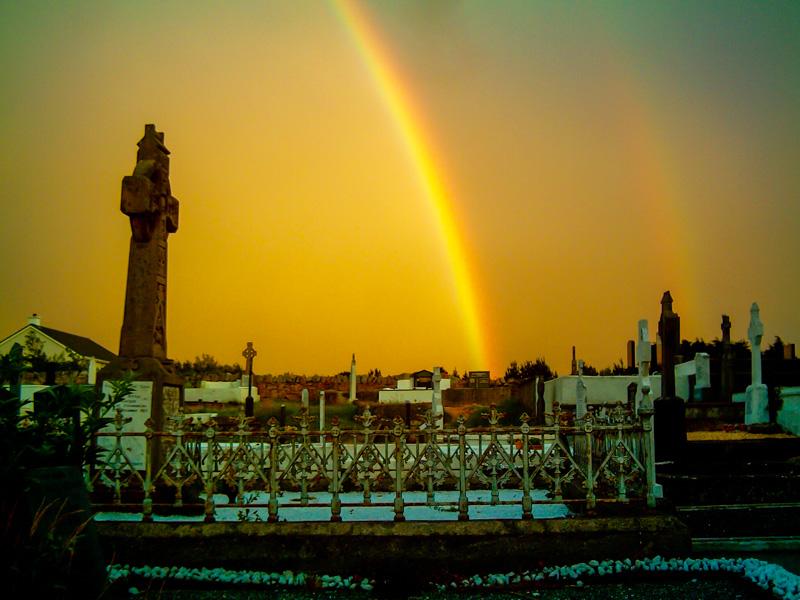 Irlanda arcobaleno Donegal