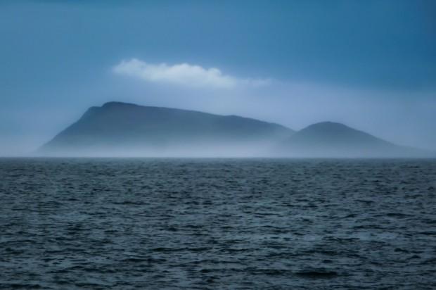 Irlanda mare nebbia