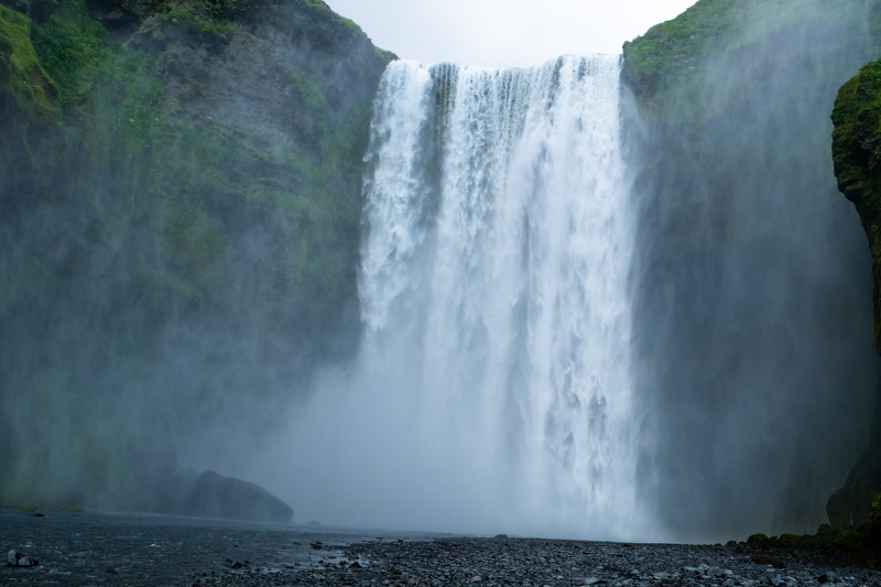 Islanda cascata