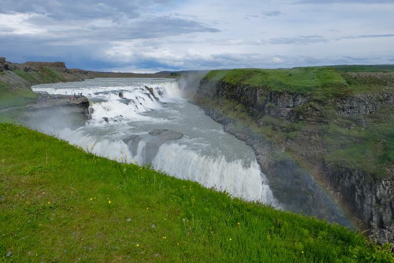 Islanda Gullfoss