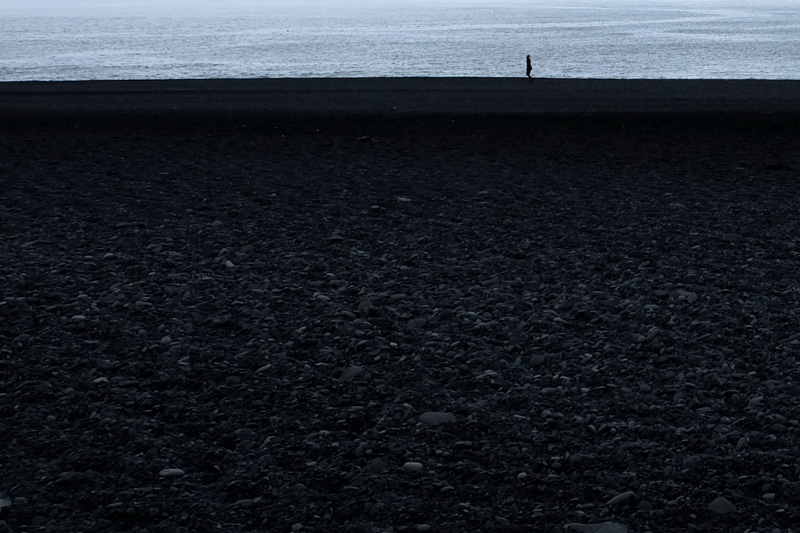 Islanda spiaggia Vik