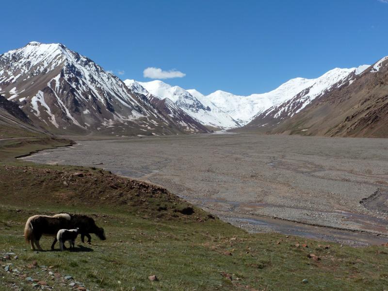Kirghizistan pamir - via della seta