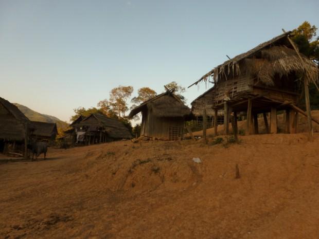 Laos palafitte