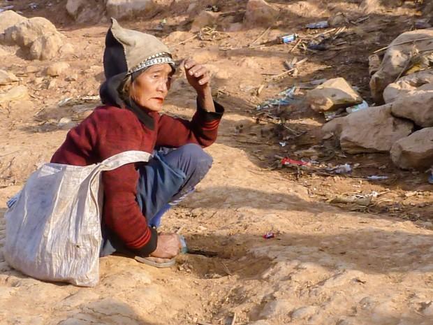 Laos donna