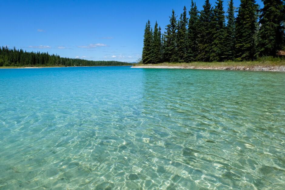 Libri di viaggio in Canada lago Boya Lake