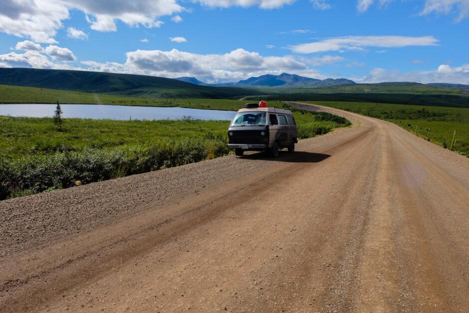 Libro di viaggio in Canada dempster highway
