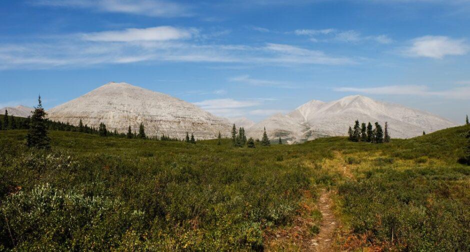 Libro di viaggio in Canada trekking