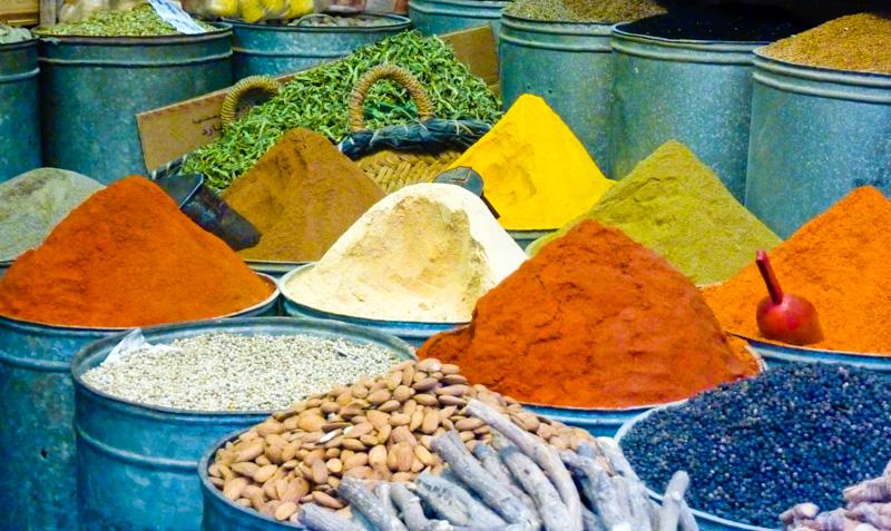 Marocco spezie