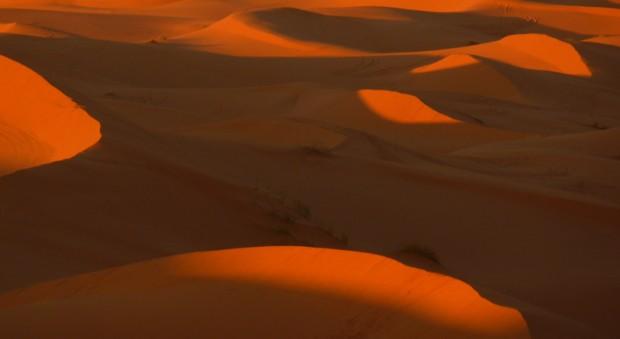 Marocco Sahara dune tramonto