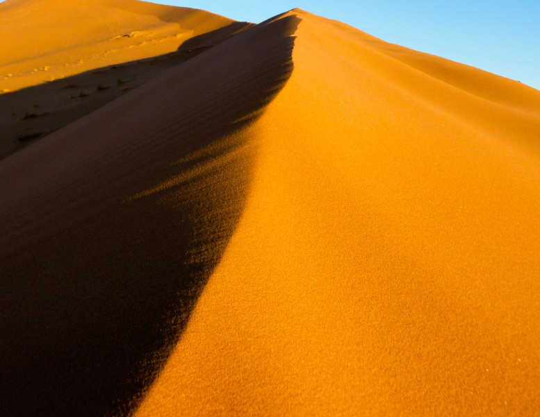 Marocco deserto Sahara tramonto