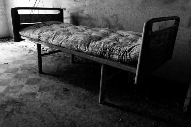 Manicomio abbandonato mombello letto