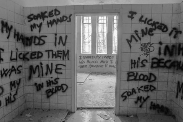 Manicomio abbandonato mombello graffiti