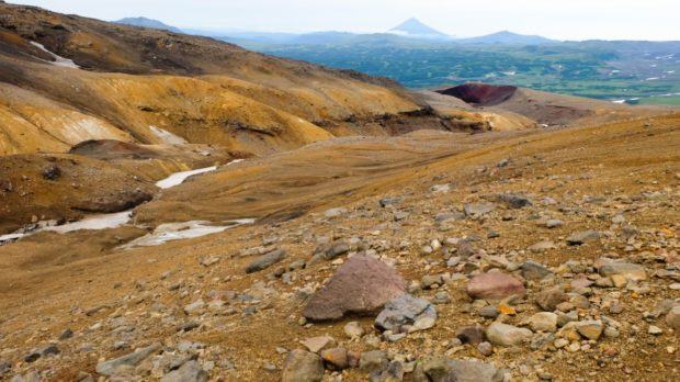 Mutnovsky panorama kamchatka