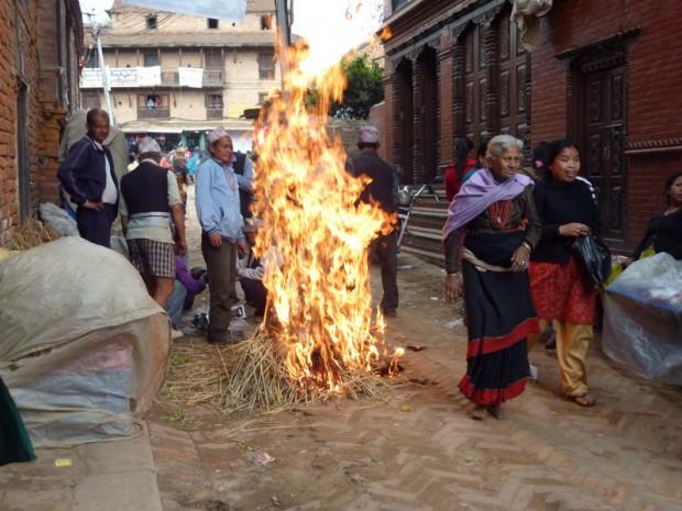Capodanno nepalese a Bhaktapur