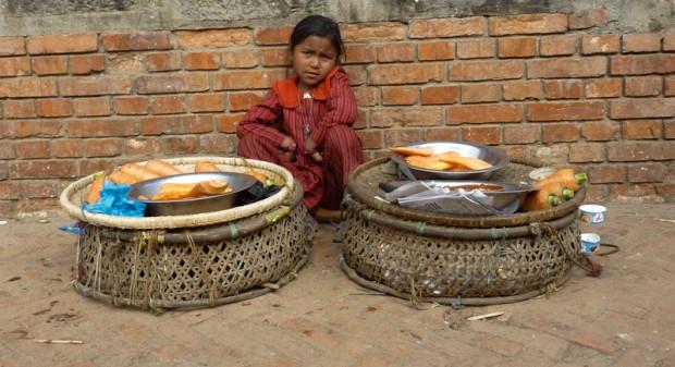 Nepal bambina