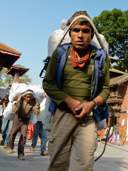 Nepal portatore
