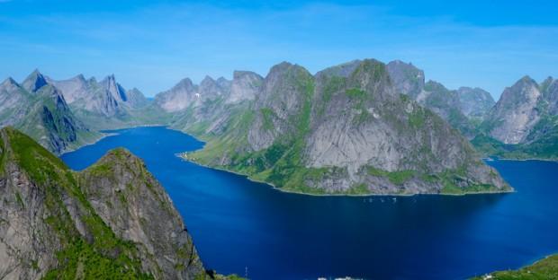 Norvegia Reinebringen