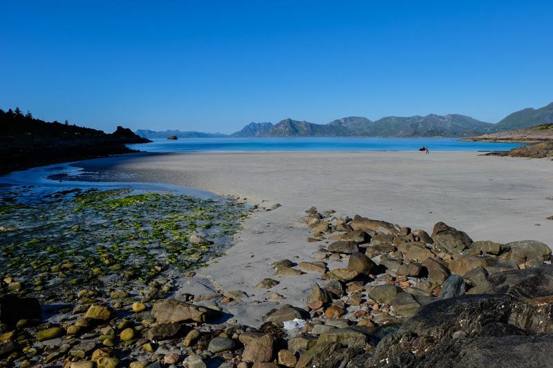 Norvegia spiaggia