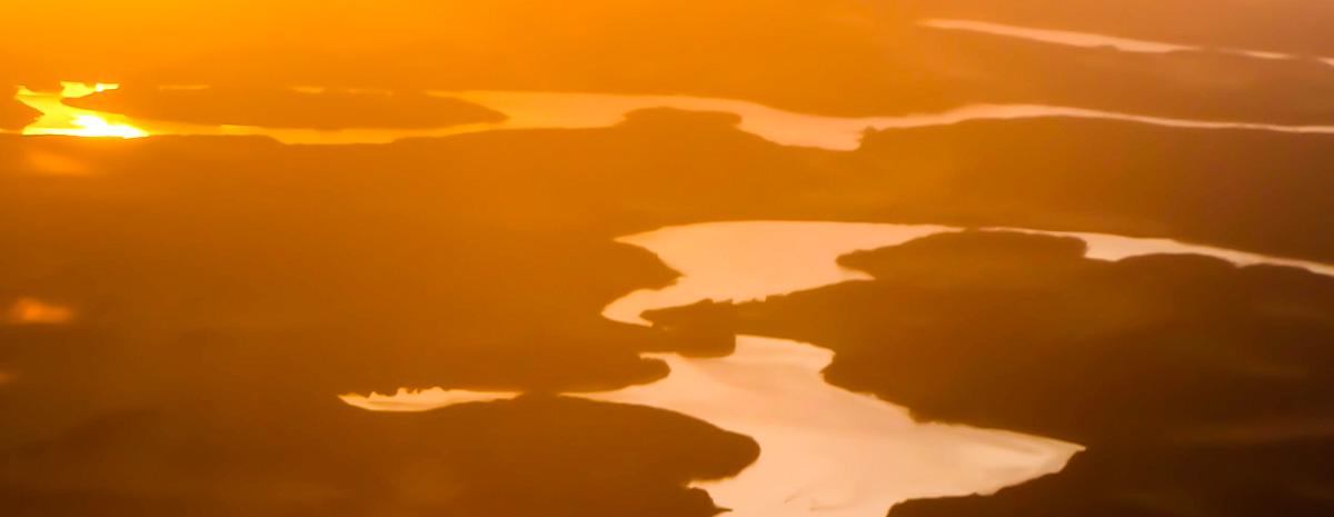 Norvegia fiordo tramonto