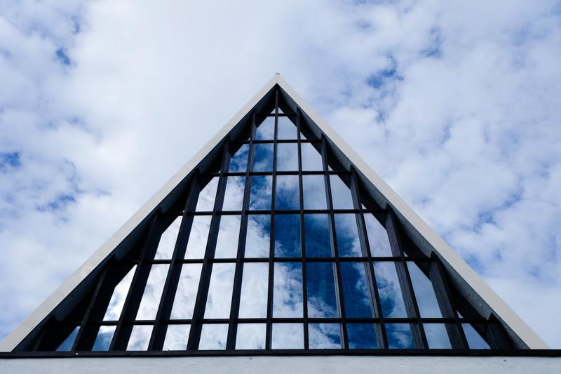 Norvegia chiesa Tromso