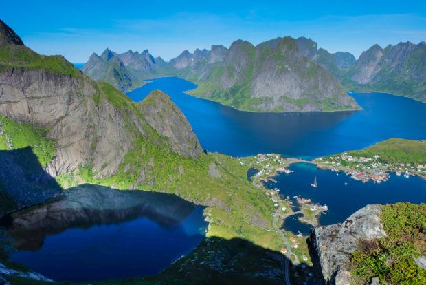 Lofoten: il trekking di Reinebringen