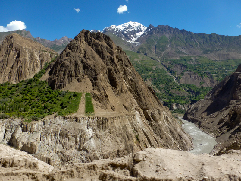 Pakistan Valle dell'Indo Karakorum Highway