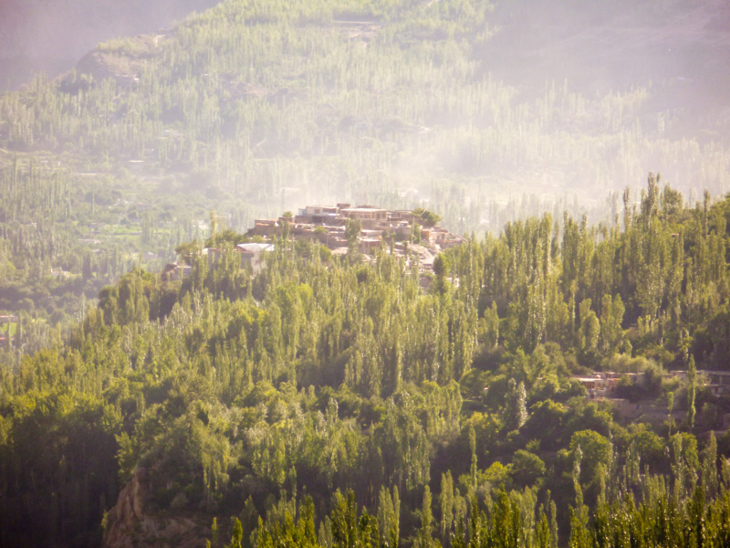 Pakistan colline