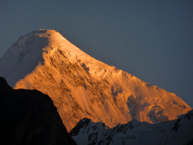 Pakistan tramonto