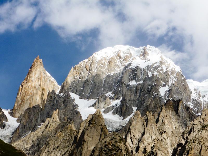 Pakistan Ultar Meadow Hunza Peak