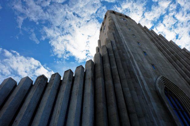 Reykjavik chiesa Hallgrímskirkja