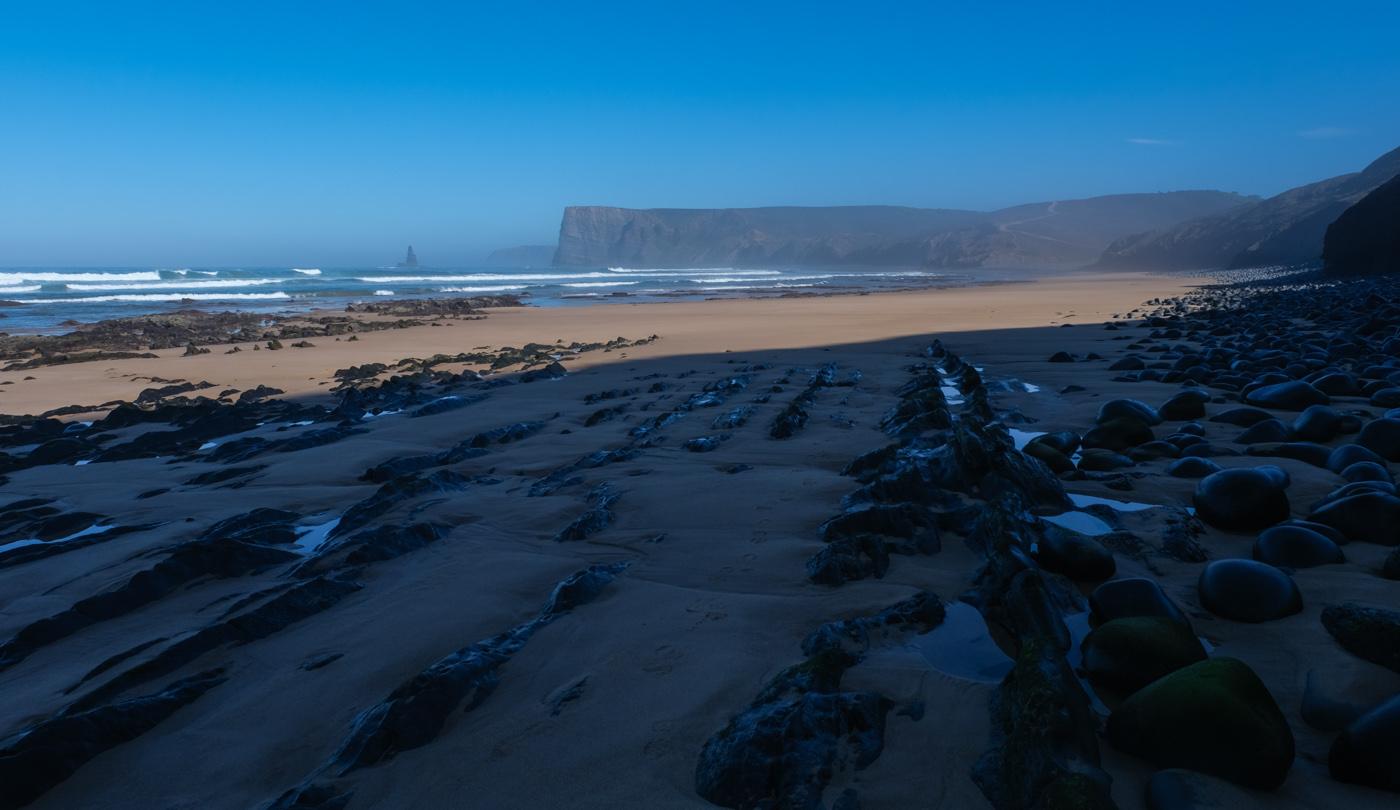 Rota Vicentina cammino a piedi Portogallo sentiero dei pescatori alba
