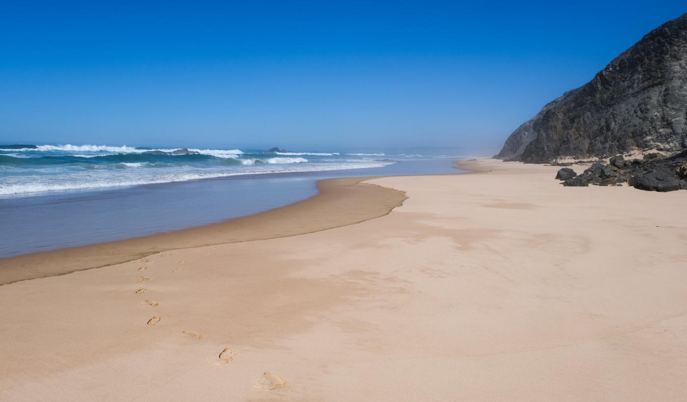 Rota Vicentina cammino a piedi Portogallo sentiero dei pescatori alentejo