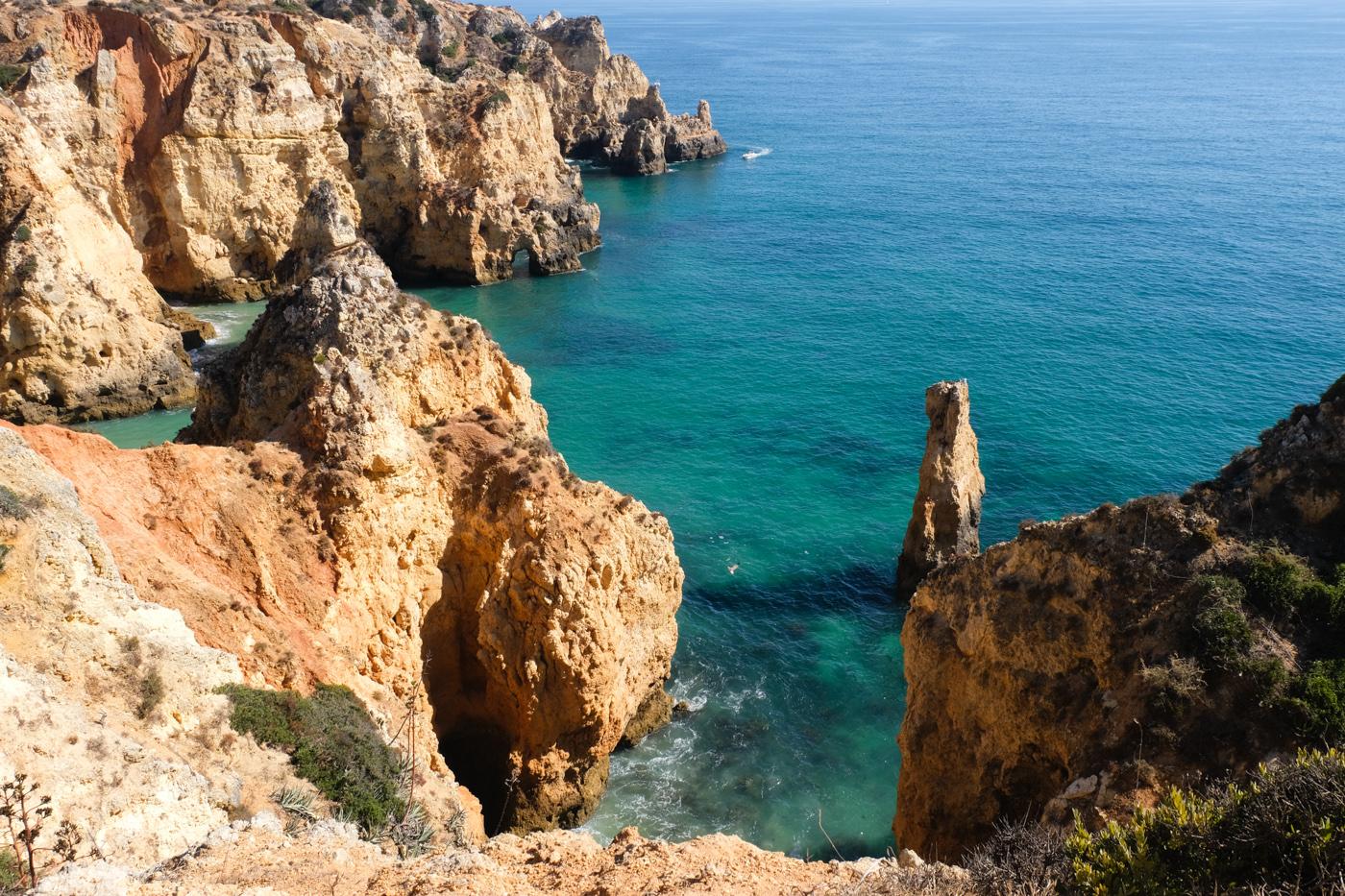 Rota Vicentina cammino a piedi Portogallo sentiero dei pescatori algarve lagos